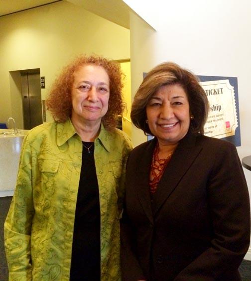 AAM screening Sheila & Dr Sushma Taylor